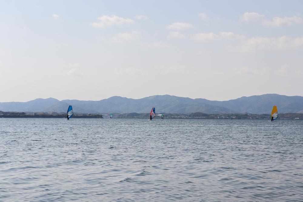 浜名湖 村櫛海岸 WIND VILLAGE(ウィンドビレッジ)ウィンドサーフィン体験