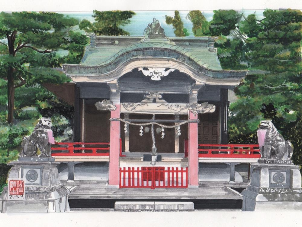 徳川家康を巡る情景:元城町東照宮