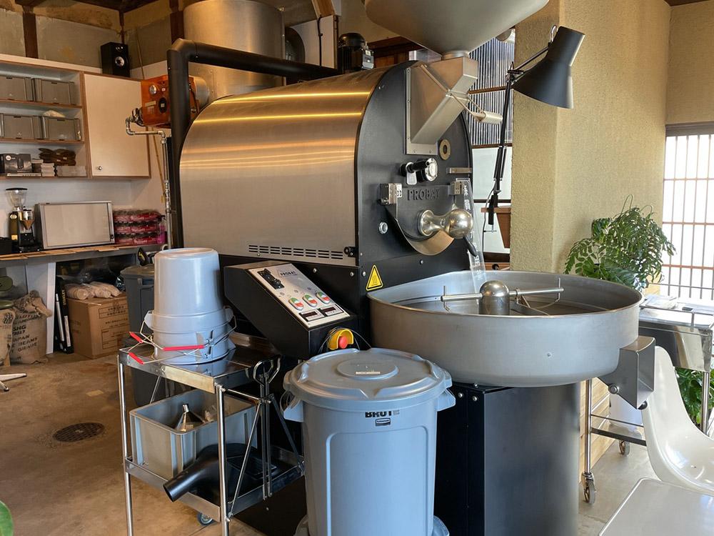 TATAZUMI COFFEE焙煎場 焙煎機